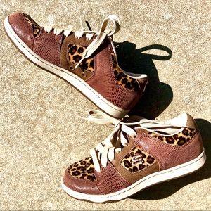 Leopard Animal Print Classic Sneakers